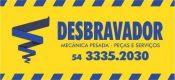 DESBRAVADOR COMERCIO DE PEÇAS